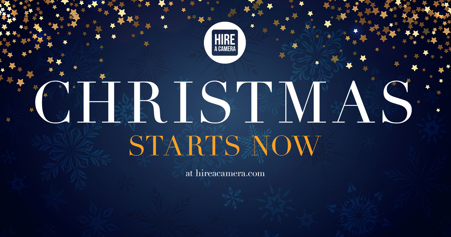 Hireacamera Christmas & New Year Mega Offer 2018!