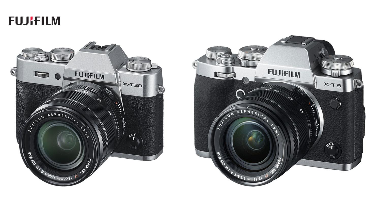 Comparison: Fujifilm X-T30 VS X-T3
