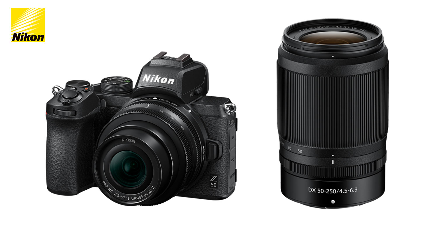 NEWS: The Z 50 DX Mirrorless Camera & First Nikkor Z Dx Lenses Join the Nikon Z Family