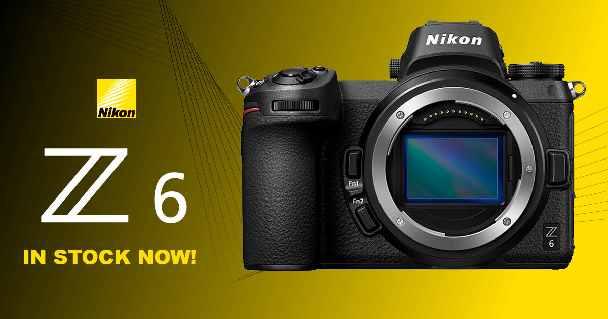 NOW IN STOCK: The Nikon Z 6!