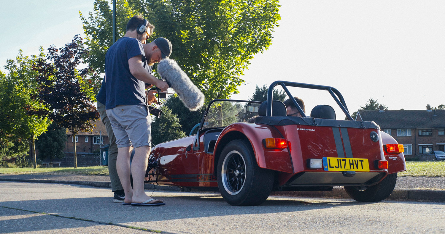VIDEO: Match Day, featuring the Caterham 360R