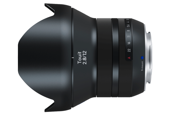 NEW DRIVER: ZEISS TOUIT 2.812 X-MOUNT LENS