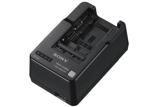 8f872915288 Hireacamera - Sony BC-QM1 Battery Charger hire - Sony BC-QM1 Battery ...