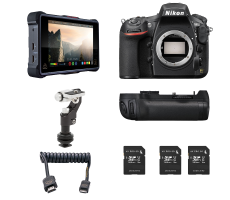 Nikon D810 video package