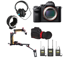 Sony A7R II Zacuto Interview Package