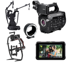 Sony FS7 filmmaking package