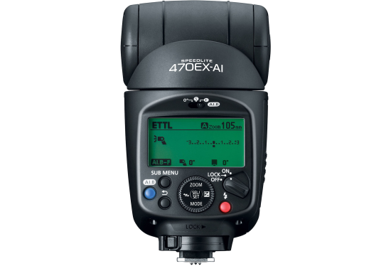 Canon Speedlite 470EX-AI Flashgun