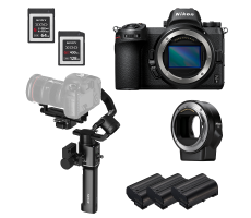 Nikon Z6 gimbal package hire