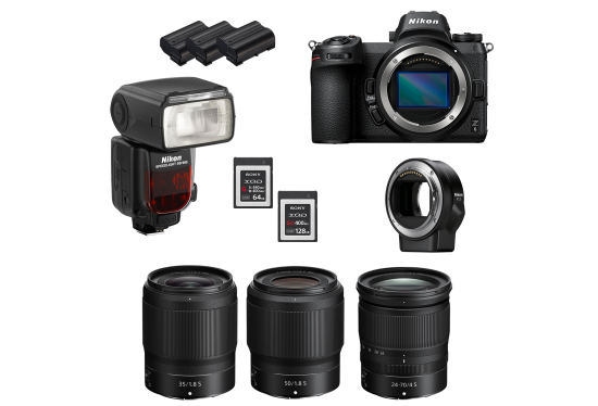 Z 6 Shooters Package Hire