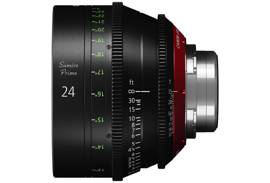 Canon 20mm Sumire lens hire