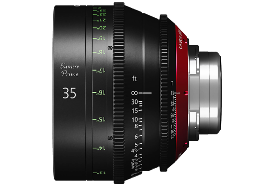 Canon 35mm Sumire lens hire