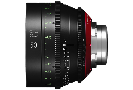 Canon 50mm Sumire lens hire