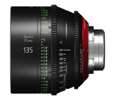 Canon 135mm Sumire lens hire