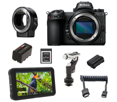 Nikon Z7 filmmaking package