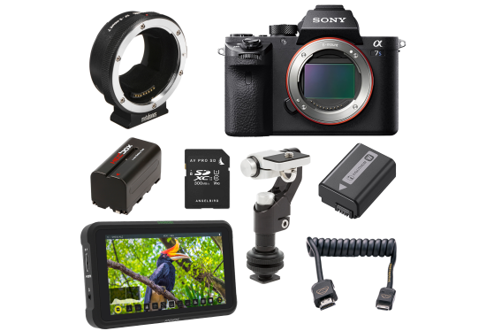 Sony a7s II video package