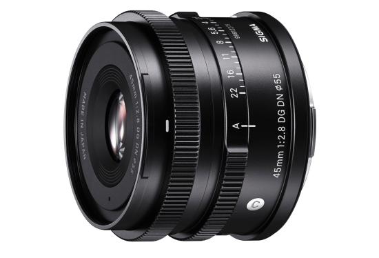 Sigma 45mm C hire