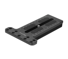 Counterweight mounting plate for gimbals