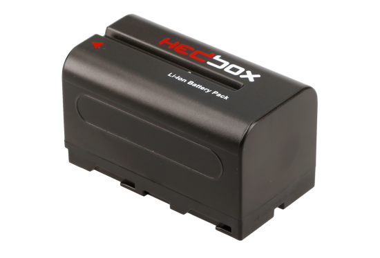 Hedbox RP-NPF770 (Sony NP-F) battery hire