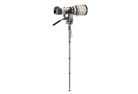 Telephoto lens monopod hire