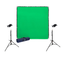 Freestanding green screen hire