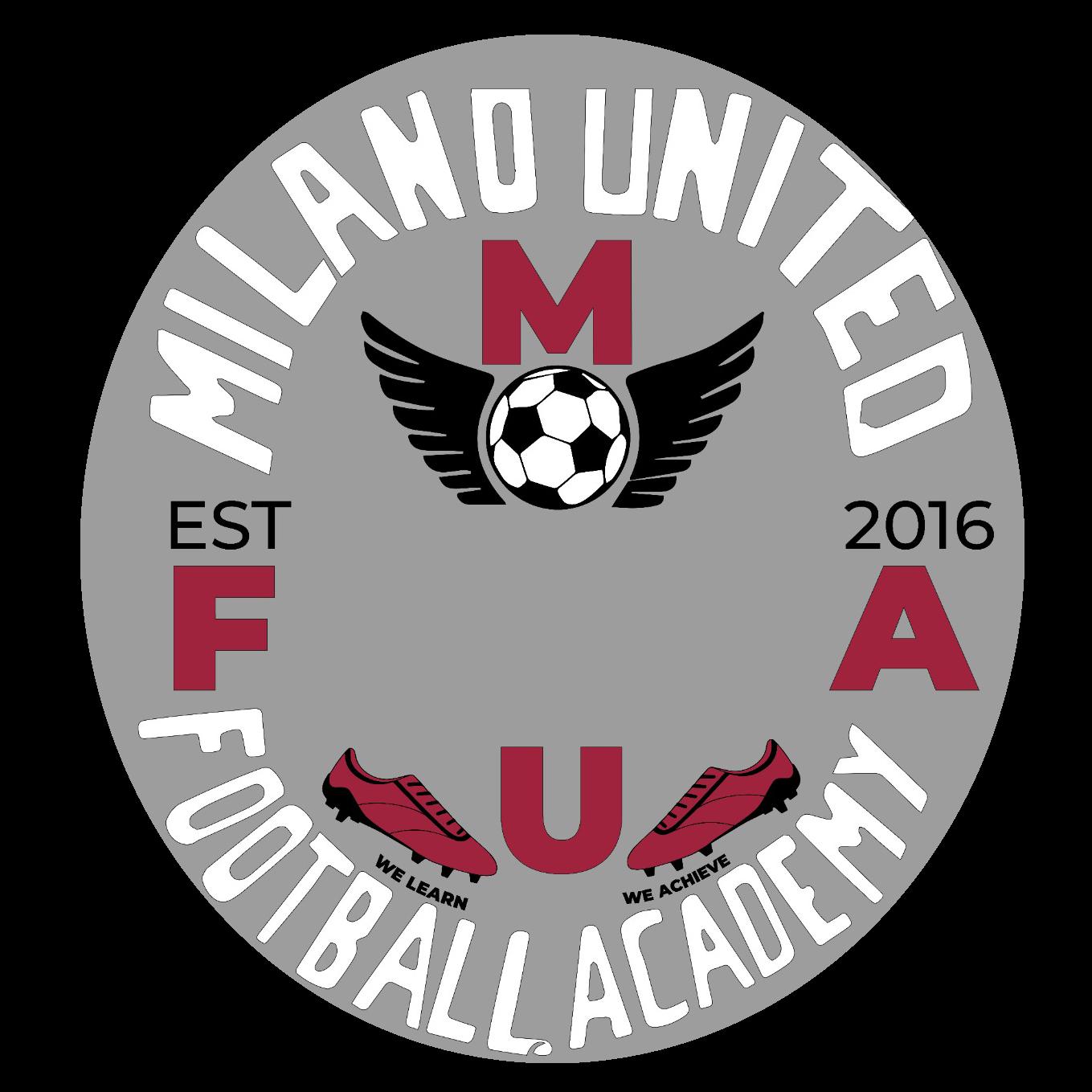 Milano United Football Academy logo