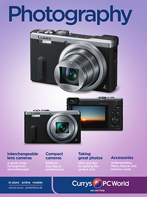 Currys / PC World photography equipment catalogue