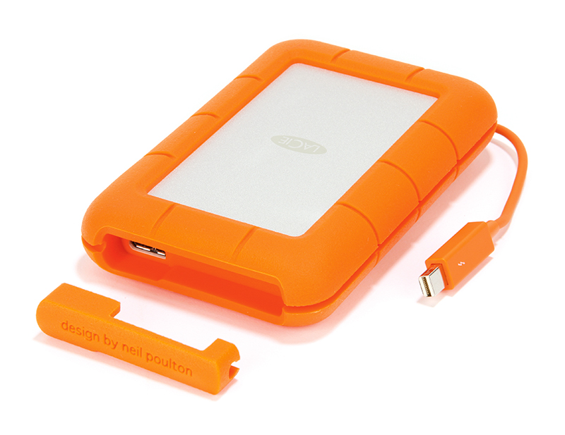 Lacie Rugged Usb 3 0 Thunderbolt Series 500gb Ssd