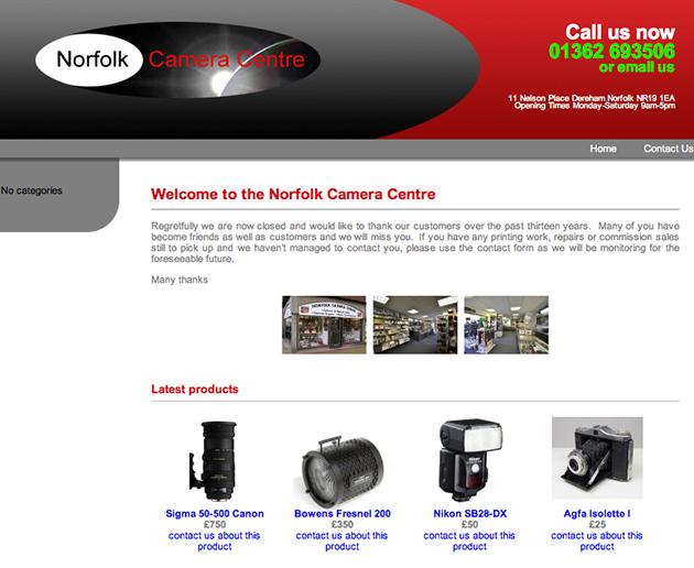 norfolk camera centre closed notice.web