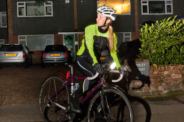 winter, riding, training, lights, dark, mudguards, training, commute