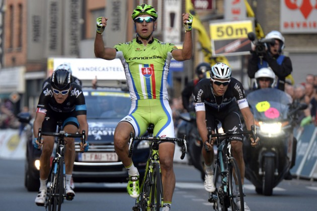 Photo: Peter Sagan wins the 2014 E3 Harelbeke .