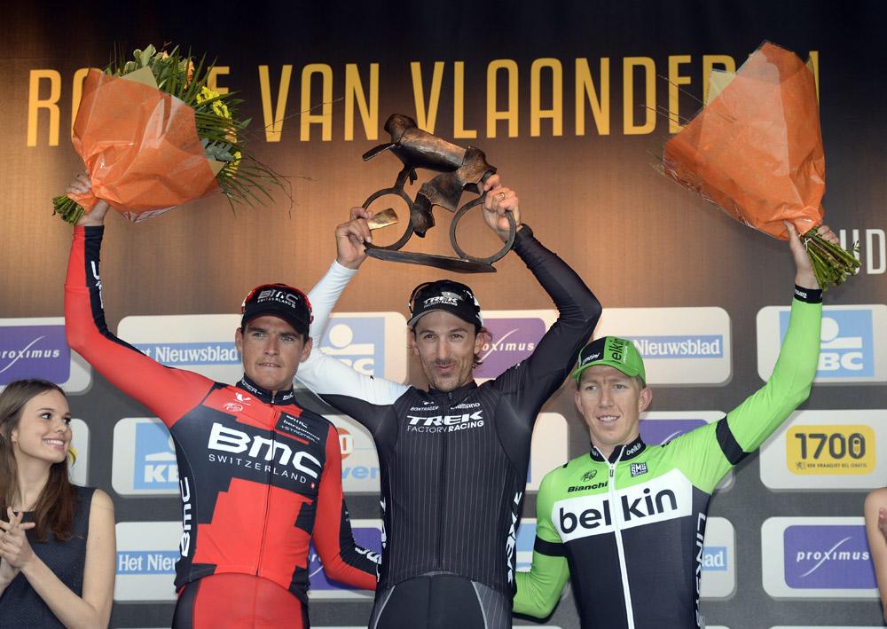 Fabian Cancellara wins his third Tour of Flanders ...