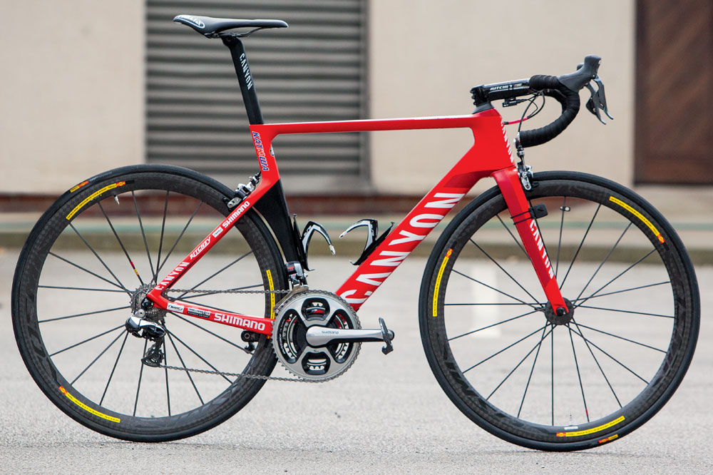 Tour Bike: Alexander Kristoff Canyon Aeroad CF SLX - Cycling news