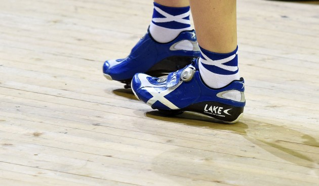 Scotland shoes and socks, Commonwealth Games 2014, day one