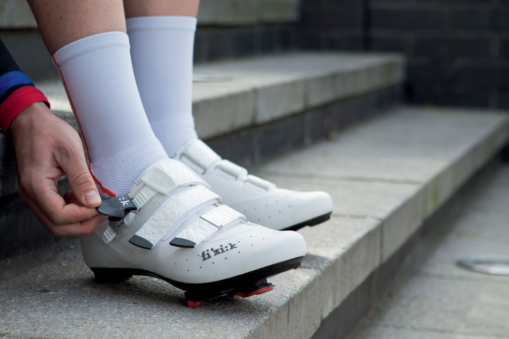 Photo: Have you been suffering from sore feet the morning after a big ride, or worse still during a ride? Physio Lewis Smith explains that it might be your plantar fascia, and we show you ways to combat it