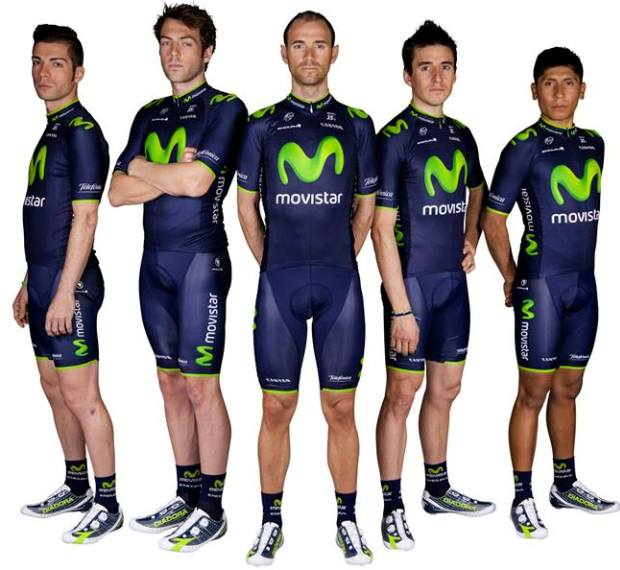 2c2bd5635 All Movistar Team clothing sold in stores will be exactly the same  specification as that worn by the team riders