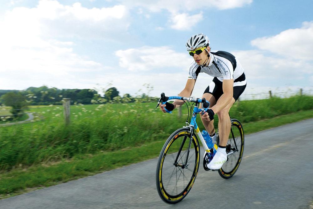 average mph cyclist amateur