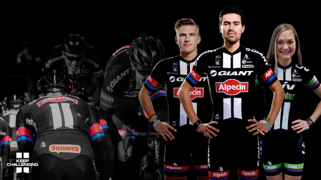 Alongside the new Giant-Alpecin kit is the women's Liv-Plantur livery