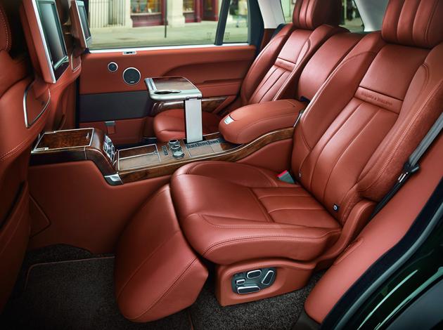 Holland & Holland Range Rover Interior