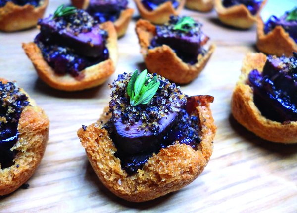 The three best christmas canap recipes the field for Christmas canape