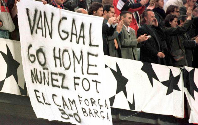 Louis Van Gaal Barcelona
