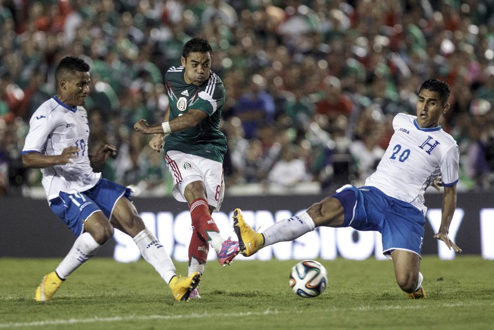 Mexico Honduras Soccer