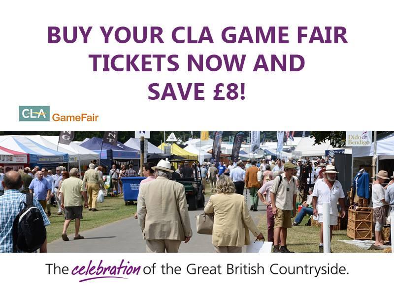 CLA Game Fair tickets