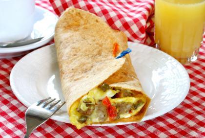 Sausage And Egg Burrito