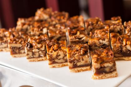 Pecan Pie Breakfast Squares