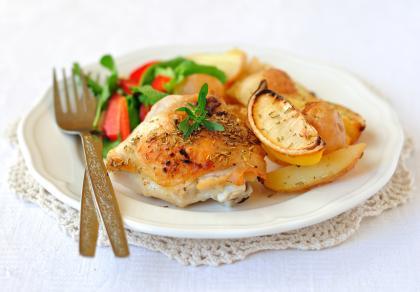 Lemony Baked Chicken