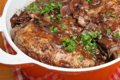 Coq Au Vin Chicken In Red Wine