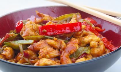 Lemon Chicken Stir-Fry