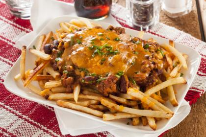 Beef Chilli Cheese Fries