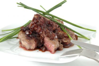 Peppered Beef Brisket Marsala