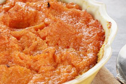 Grated Sweet Potato Casserole